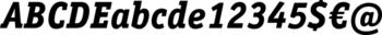 Thumbnail ITC Officina Serif by ITC Pro Extra Bold Italic - font