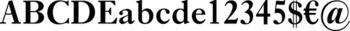 Thumbnail Ehrhardt Semibold - typeface