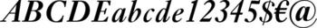 Thumbnail Ehrhardt Semibold Italic - office fonts