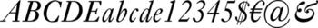 Thumbnail Ehrhardt Std Italic - typefaces